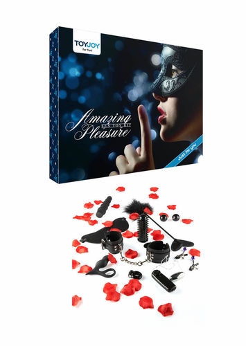 Amazing Pleasure Sex Toy Kit - 10 Osaa
