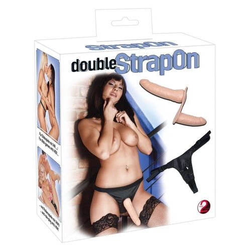 Double Dong Strap-On Dildo