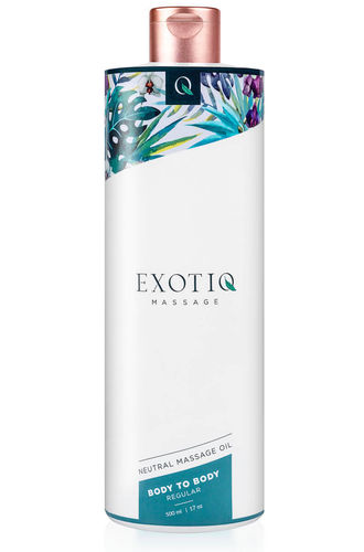 Hierontaöljy Exotiq Body To Body Neutral