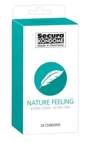 Kondomit Secura Nature Feeling 24kpl