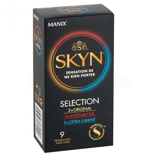 SKYN Selection Kondomit 9 kpl