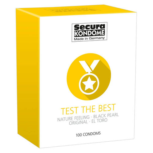 Kondomit Secura Test The Best 100 kpl