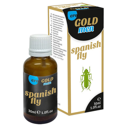 Spanish Fly Men Gold Strong