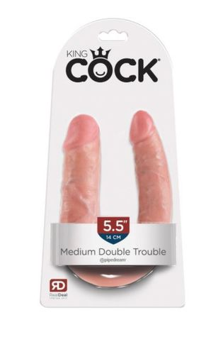 King Cock Medium Double Trouble