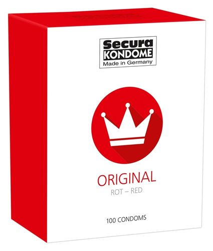 Secura Original Red 100kpl
